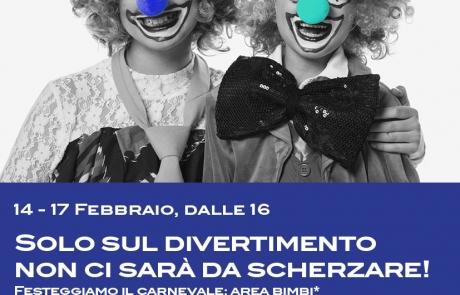 Vieni a festeggiare il Carnevale con noi!