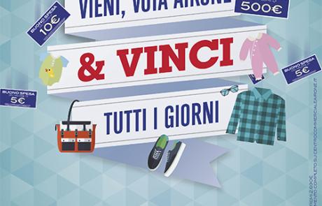 Vieni, vota Airone & vinci tutti i giorni!